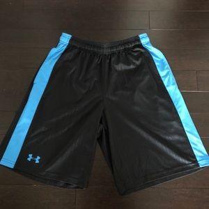 🆕 Under Armour shorts loose fit blue black M